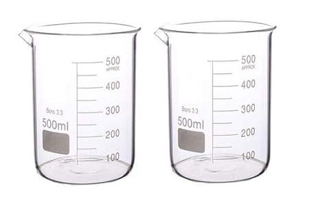 Rocwing Borosilicate 3.3 Glass Graduated Measuring Beaker/ 1000ml+2000ml+3000ml