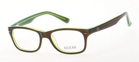 Guess Youth Eyeglasses GU9145 9145 050 Brown/Green Full Rim Optical Frame - Eyeglasses Youth