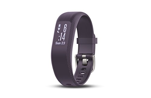 Garmin Vivosmart 3, Purple, S/M (Certified Refurbished) by Garmin