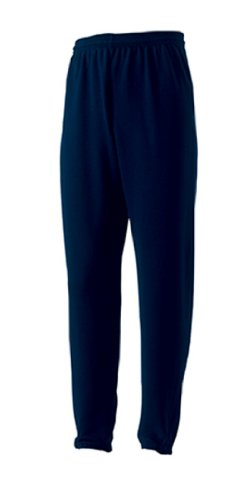 Russell Men's Jogger Sports Sweatpants French Navy M
