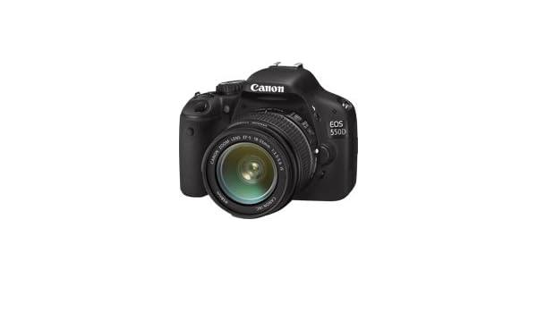 Canon EOS 550D - Cámara Réflex Digital (Kit EF-S 18-55 II IS ...