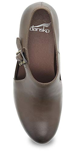 Calf Taupe Burnished Hollie Shoe Dansko Women's Fxq6APX