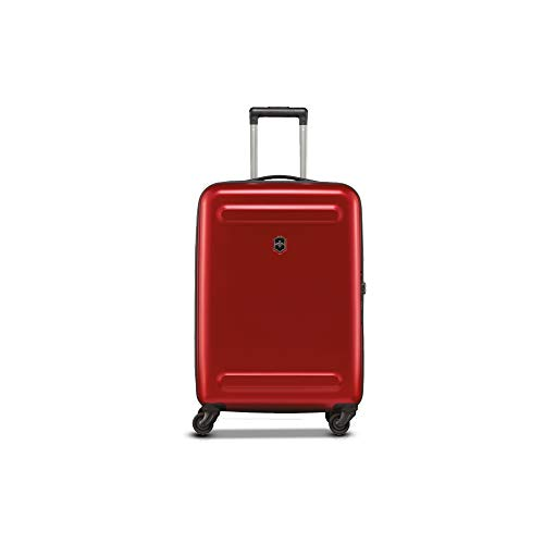 Victorinox Polycarbonate Etherius Medium Expandable Check in Luggage  Red