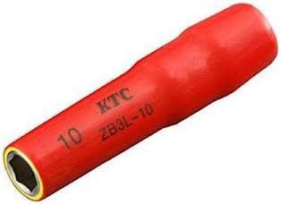 京都機械工具(KTC) 9.5sq.ディープソケット10mm(六角) ZB3L-10