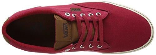 C Rosso Ginnastica da amp;l Scarpe Vans Winston Mn Uomo Basse 0qfW18