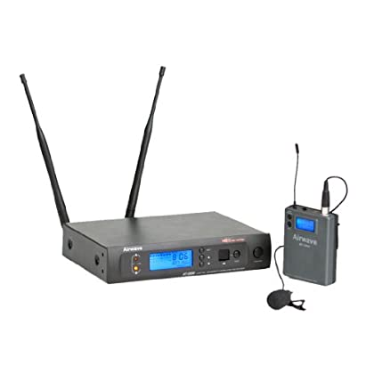Image of Airwave Technologies AT-3002 Wireless Microphone System Wireless Lavalier Microphones