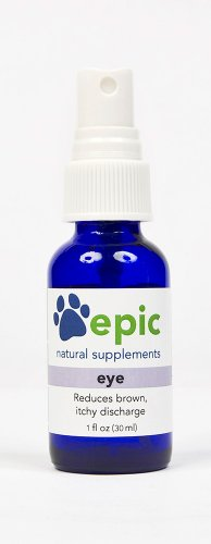 Eye – Reduces Brown, Itchy Discharge Naturally (Spray, 1 ounce), My Pet Supplies