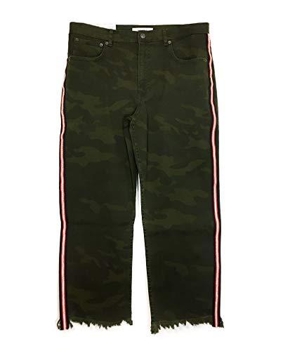 Zara Femme Jean Pantacourt Camouflage 9632/242