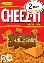 Whole Grain Baked (Sunshine Cheez-It Whole Grain Baked Snack Crackers 12.4 oz. Box (Pack of 2))