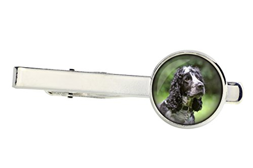 American Cocker spaniel, Tiepins for dog lovers, Photo-Jewelry, Jewelry for Men, Handmade