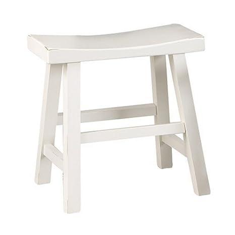 Miraculous Amazon Com Carolina Cottage 18 Inch Saddle Seat Stool Machost Co Dining Chair Design Ideas Machostcouk