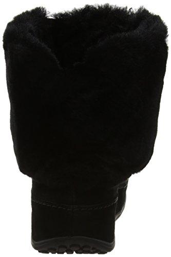 Fitflop Ladies Supercuff Mukluk Boots Manica Corta Nero (nero)