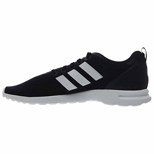 Adidas Scarpe White Flux Tessile Smooth Zx Black Core Ginnastica wq6v4R