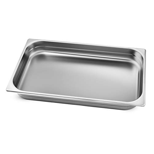 Tramontina 80205/551DS Stainless Steel Full-Size Chafing Dish Food Pan, 9-Quart