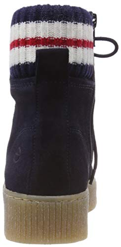 25065 Sneaker Tamaris A Donna navy 805 31 Blu Collo Alto PdxqFBnx