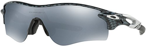 Oakley Men's Radarlock Path (a) Non-Polarized Iridium Wrap Sunglasses, Carbon Fiber, 38 mm