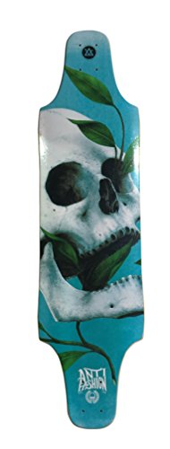 50 shades of DEATH longboard deck GRIPPED, HIGH CONCAVE 10X38