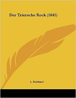 Book Der Triersche Rock (1845)