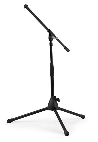 Nomad NMS-6607 Mid-Height Tripod Base Microphone Stand and Boom