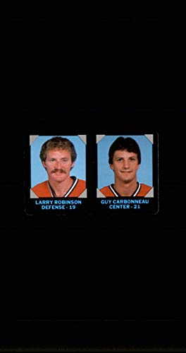 1985-86 7-Eleven Credit Cards #10 Larry Robinson Guy Carbonneau MONTREAL CANADIENS Vintage from SuperStar Sports