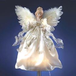 Porcelain Angel Tree Topper - 3