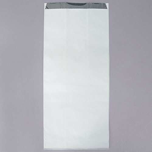 Tabletop king 6 1/2'' x 4 1/4'' x 14 5/8'' .5 Gallon Unprinted Foil Bag - 500/Case by TableTop King
