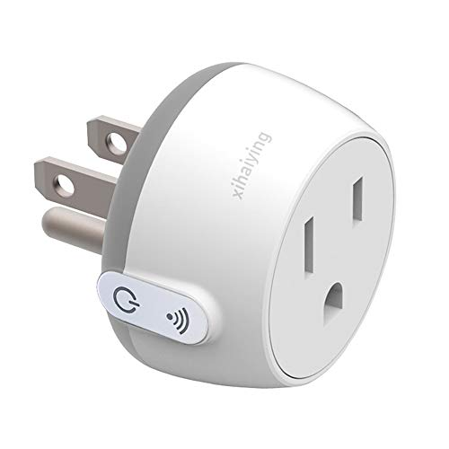 Durable Smart Plug WiFi Socket Outlet Remote Control 10 Amp Smart Life Adapter for Home Improvement, Works with Alexa, Google Home(FCC,ROHS,CE,Listed) by Jimtye