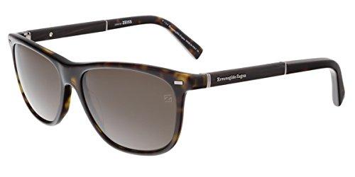 Ermenegildo Zegna Men's EZ0009 Sunglasses, Dark - Zegna Sunglasses