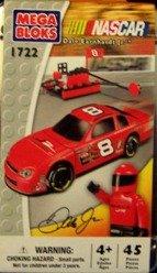 Mega Bloks #1722 NASCAR Dale Earnhardt Jr. #8 Car and Figure (Earnhardt Jr 4 Piece)
