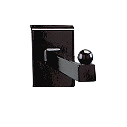 KC Store Fixtures A02230 Slatwall Faceout, 12'', Black (Pack of 25)