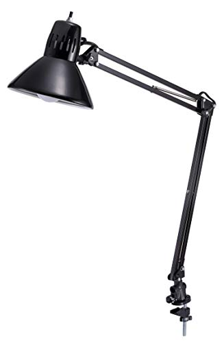 Bostitch Office LED Swing Arm Desk Lamp with Clamp Mount, 36
