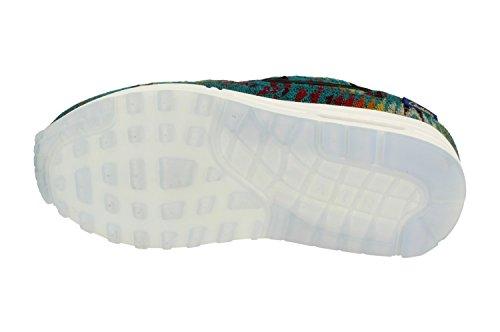Nike Air Max 1 Womens Prm Formatori Pendleton Corsa 918621 Scarpe Da Tennis Verde Acqua Tropicale Nero 301