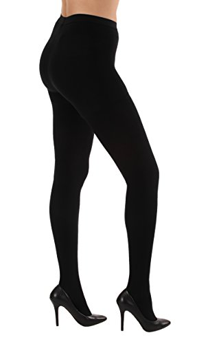 - Opaque Graduated Compression Pantyhose, Support Hose Pantyhose - 20-30mmHg Graduated Medical Compression, Color Black, Size Large, SKU A204BL3 - Absolute Support Brand, Made in The USA