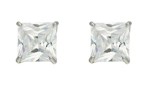 Boucles d'oreille Femme - EW-CE141-WCZ - Or blanc (9 carats)