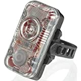 Lupine Lighting Systems Rotlicht/REDLIGHT Tail-light: Bright, and BRIGHTER STILL with its genius functions - With incredible 160 Lumens of red light output, this is probably the most powerful tail light with an integrated battery - Brake Light - When you