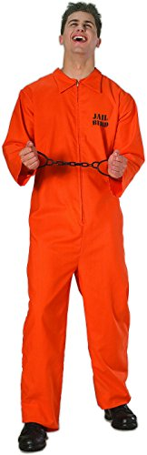 Adult Sized Jail Bird Jumpsuit]()