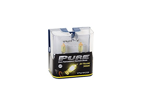(Putco 230J16JY Jet Yellow H16 Type 2 Pure Halogen Headlight/Fog Light Bulb - Pair)