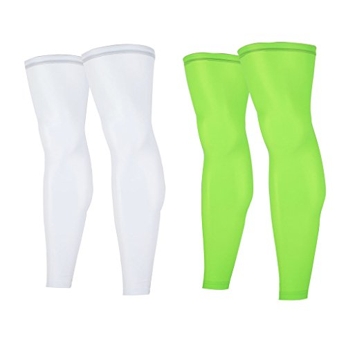 ARSUXEO Men's Cycling Running Leg Warmers UV Protection