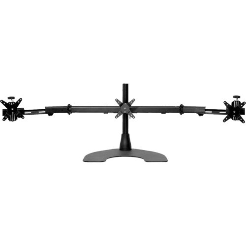 """Ergotech Triple Tw Lcd Monitor Desk Stand . 16"""" Pole . Black . Horizontal . Triple W/Telescoping Wings """"Product Type: Accessories/Stands & Cabinets"""""""