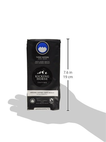 Kicking Horse Coffee, Ground, Three Sisters, 10 Ounce