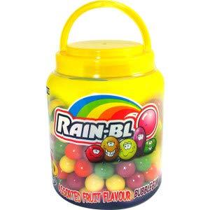 (Zed Candy Rain-blo Bubblegum Tub (Pack of 18)0)