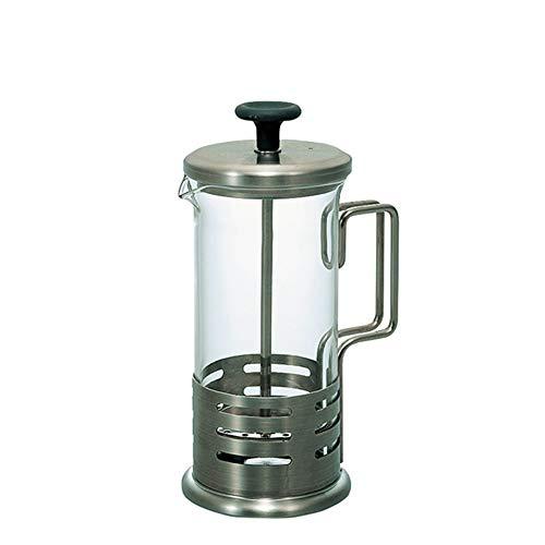 LIUXING-Home Cafetera Francesa Filtro Prensa hogar Cafetera Resistente al Calor pote de Cristal French Press Pot Tetera…