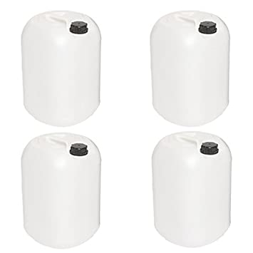 25L Litre Water Storage Container Jerrican Drum Jerry Can x 4