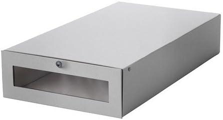IKEA HYFS - caja de arranque, gris - 30x56x11 cm: Amazon.es: Hogar