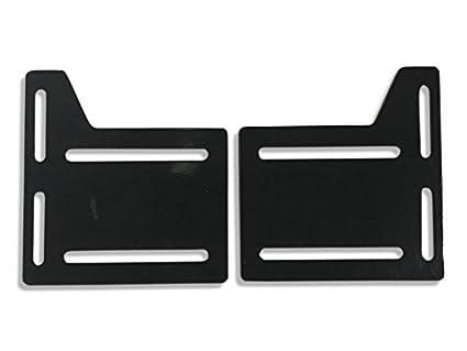 Amazon Com Claw It On Bed Rail Hooks Plate Adapter Bracket