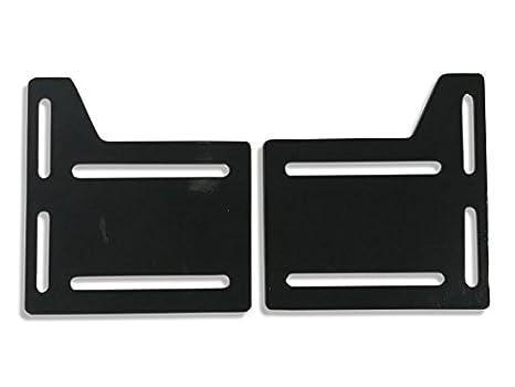 CLAW IT ON Bed Rail Hooks Plate Adapter Bracket Conversion Kit Bolt On Headboard Footboard