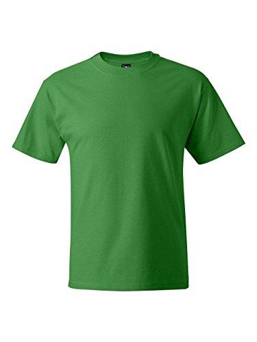 Hanes Men's Short Sleeve Beefy T-Shirt (Shamrock Green, Medium) - 2004 Green T-shirt