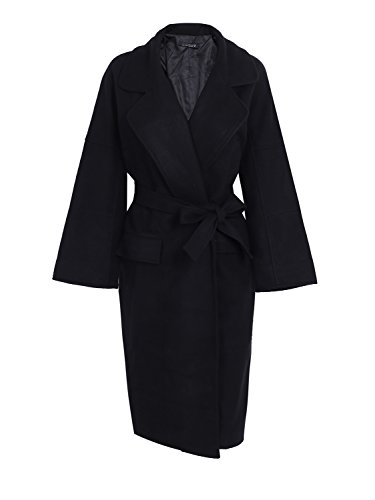 Wool Blend Black Jacket - 8