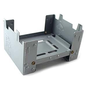 HATCHMATIC Estufa Mini plegable de picnic estufa ligera de combustible sólido estufa portátil sólido