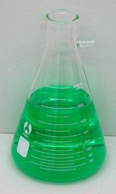Bomex 2000ml Glass Filtering Flask w/ Side Arm 2 Liter - Side Arm 2